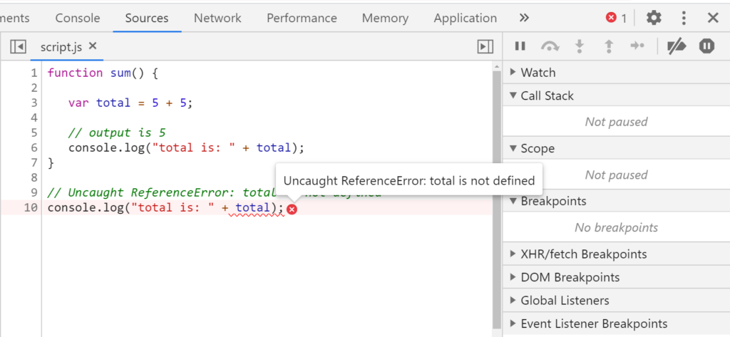 google-chrome-showing-error-msg
