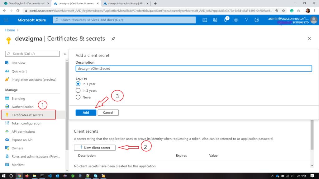 add-client-secret