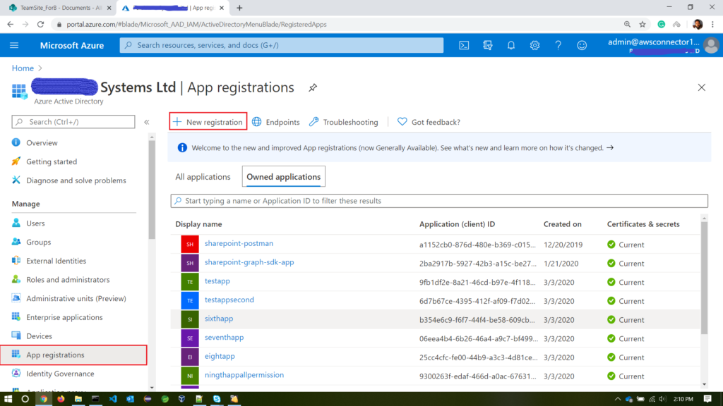 create-new-app-interface-in-azure
