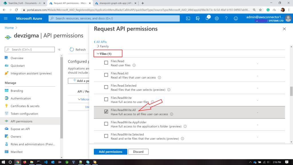 files-permission