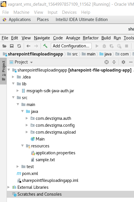 project-structure-for-uploading-files-to-sharepoint-using-java